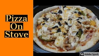 Pizza on stove || Pizza Without oven || perfect dough || FFC