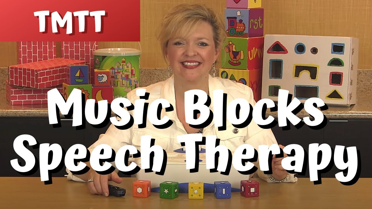 Music Blocks Speech Therapy for Toddlers Therapy Tip of the Week