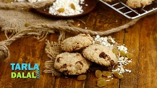 Oat And Raisin Cookies ( Healthy Heart And Low Cholesterol) By Tarla Dalal
