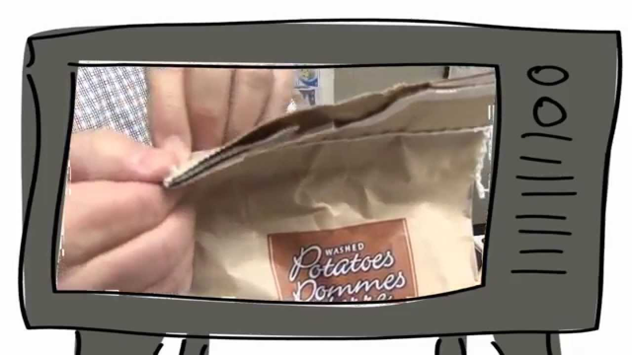 comment ouvrir un sac de pommes de terre sans le d chirer youtube. Black Bedroom Furniture Sets. Home Design Ideas