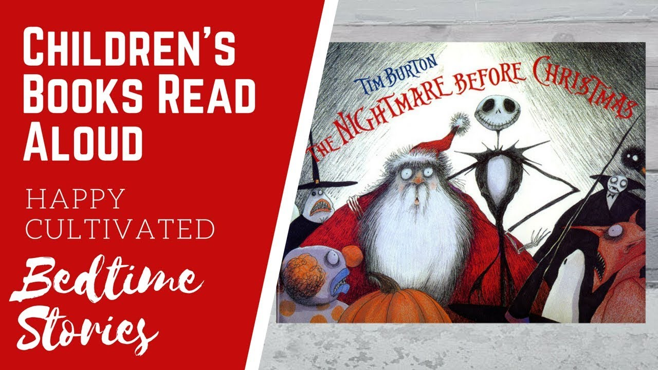 The Nightmare Before Christmas Book Read Aloud | Scary Stories for ...