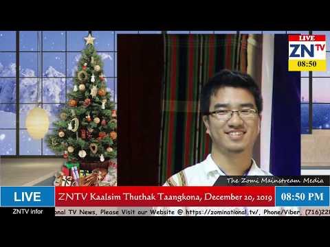 ZNTV Kaalsim Thuthak Taangkona # 53, December 20, 2019 (Friday)