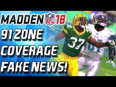 ROD WOODSON LEGEND DEBUT! PROOF 91 ZONE COVERAGE IS OVERRATED! #FAKENEWS - Madden 18 Ultimate Team