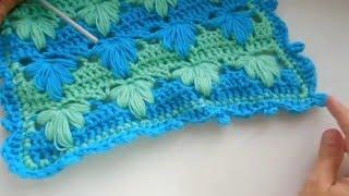 Как связать окантовку крючком. How to crochet edging