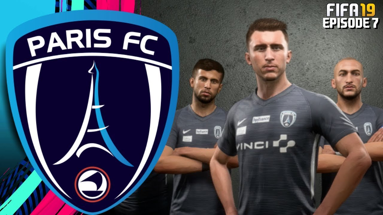 FIFA 19 PARIS FC RTG CAREER MODE - #6 CHAMPIONS LEAGUE FOOTBALL!!