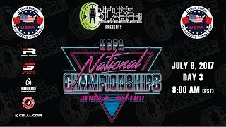 2017 USPA National Powerlifting Championships - Day 3