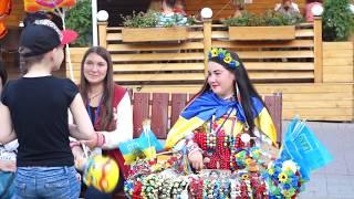 Дивовижна Вінниця, її мешканці та чудові Фонтани. Тепла Осінь +2015