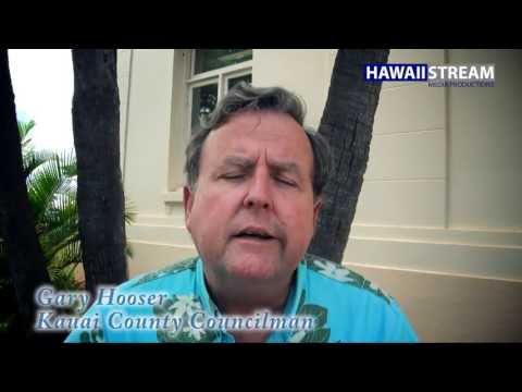 Kauai County Councilman Gary Hooser has introduced House Bill 2491