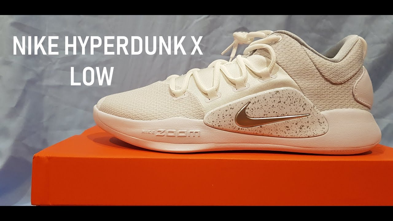 9108501848f0 Nike Hyperdunk X (2018) LOW  ICE AND SILVER - YouTube