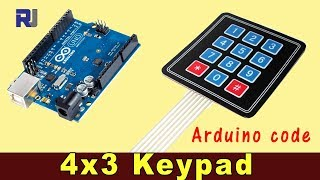 4x3 Keypad for Arduino with  code