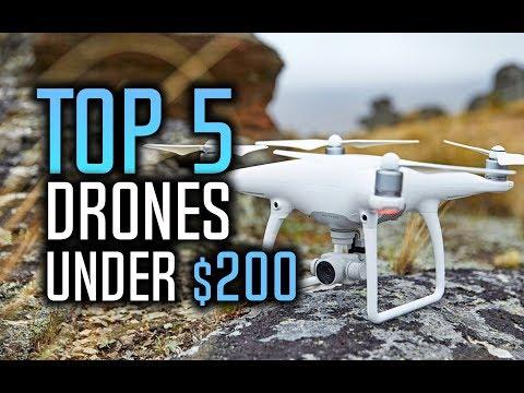 ▶️ Best Drones Under $200 in 2017!