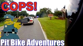 Pit Bike Adventures | EP 24 PT 2 // Cop Chased Us!!