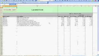 Landed Cost Calculation Template