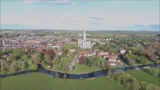 Salisbury Cathedral Drone Footage