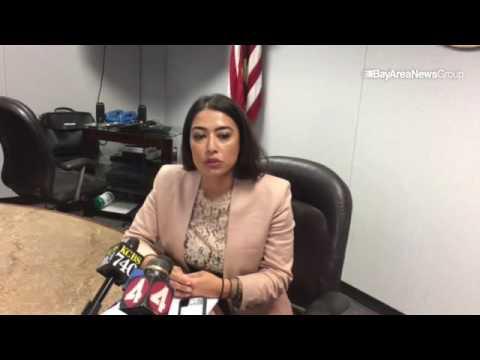 Alaleh Kiancerci, Santa Clara County deputy district attorney, reacts to a letter gone viral that wa