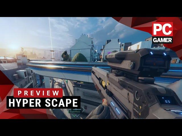 Hyper Scape (видео)