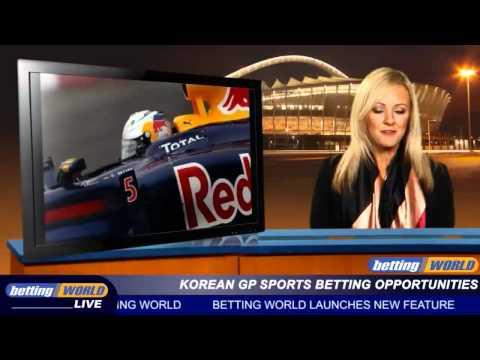 Korean GP sports betting opportunities