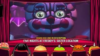 FIVE NIGHTS AT FREDDY'S: SISTER LOCATION - Download (FNAF 5 game by Scott Cawthon 2016)