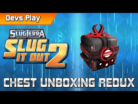 Slugterra: Slug it Out 2 DEVS PLAY | Chest Unboxing Redux
