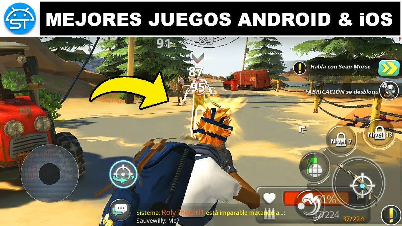 Top Mejores Juegos Sin Internet Multijugador Para Android Ios Que