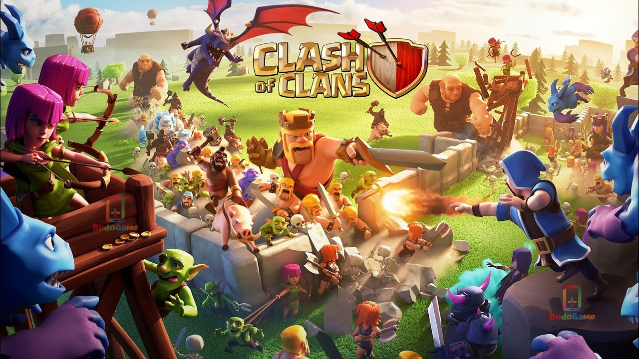 new loading screen june update 2019 clash of clans youtube. Black Bedroom Furniture Sets. Home Design Ideas
