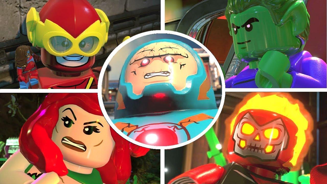 LEGO DC Super-Villains - All Bosses