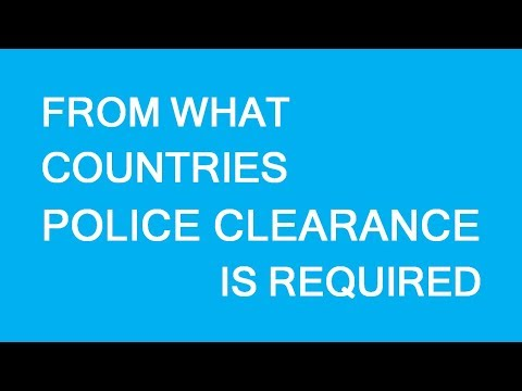 Police Clearance Certificates For Immigration To Canada. LP Group Canada