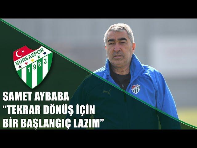 Teknik Direktörümüz Samet Aybaba M. Başakşehir Maçı Öncesi Basın Toplantısı Düzenledi