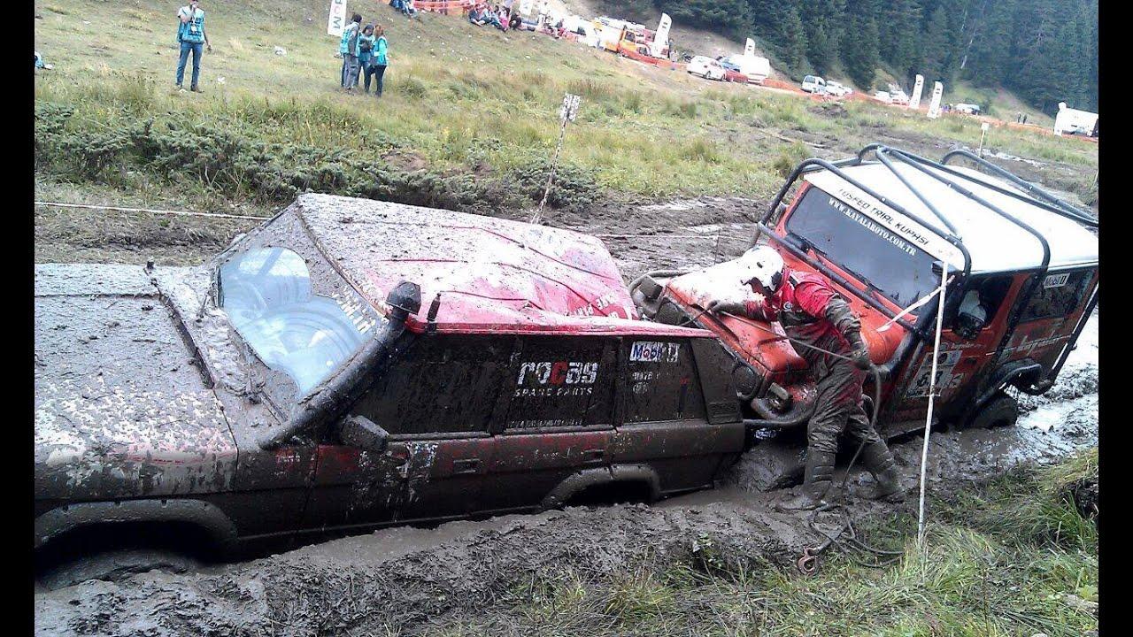 Toyota Land Cruiser Fj40 >> Range Rover Classic & Toyota Land Cruiser ''Düzce extreme offroad trial'' - YouTube