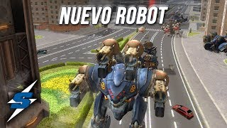 EL NUEVO INQUISITOR con 4 slots MEDIOS    SORILOKO War Robots