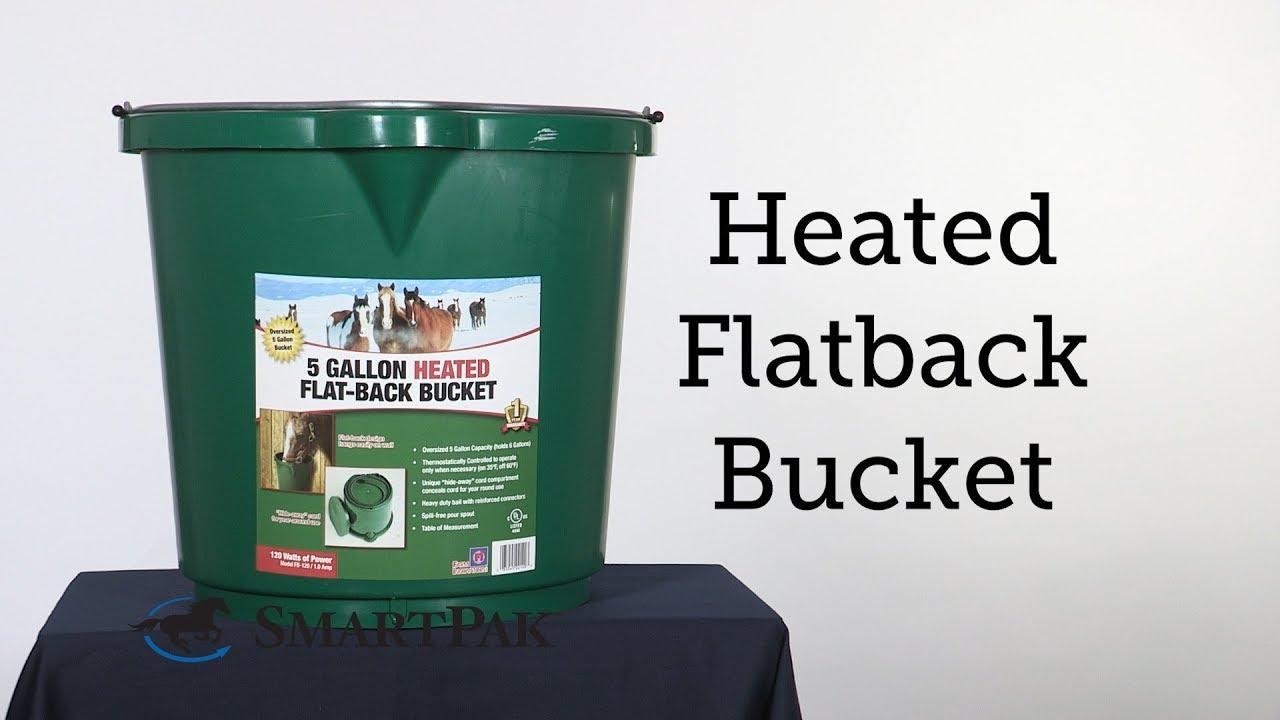 Heated Flatback Bucket Review