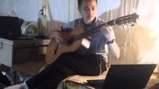 Bước chân lẻ loi guitar solo