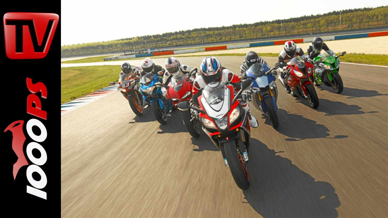 2015 Superbike 1000cc Shootout  Testing 7 hottest Supersport