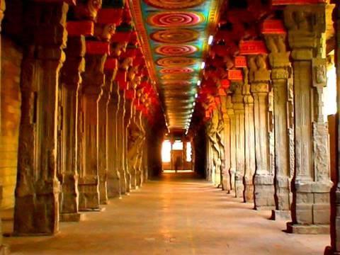 Madurai Meenakshi Temple Corridor Tamilnadu Youtube