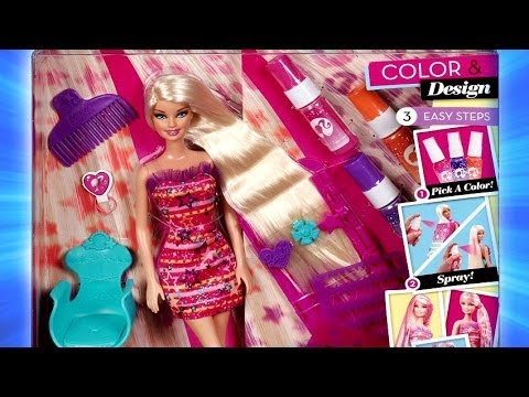 Color And Design Salon Barbie.Color Design Salon Barbie Studio Fryzjerskie Barbie Hairtastic X2345 Recenzja