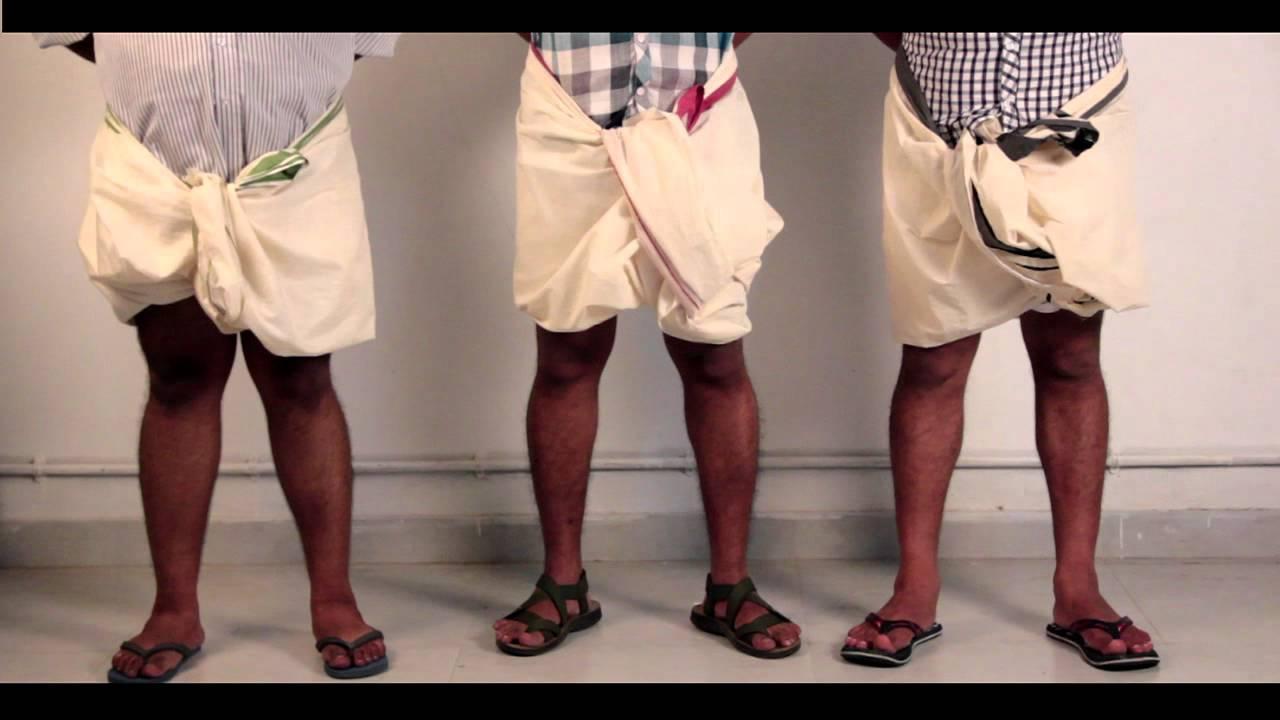 How to tamil wear nadu dhoti rare photo