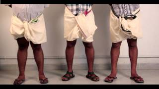 What exactly is a dhoti or a mundu?