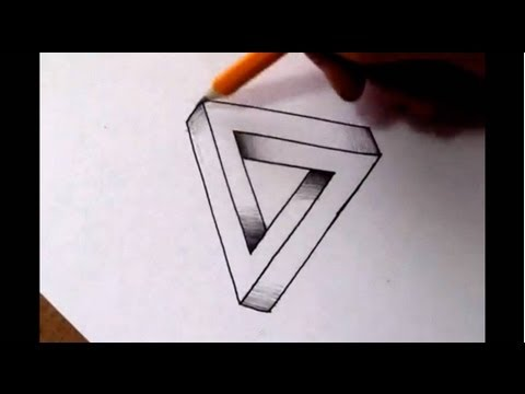 Thumbnail: How To Draw The Impossible Triangle - Optical Illusion