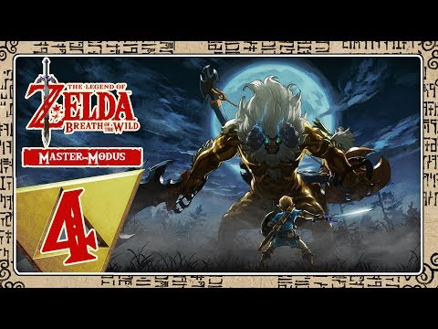 🔴 THE LEGEND OF ZELDA BREATH OF THE WILD [MASTER-MODE] Part 4: