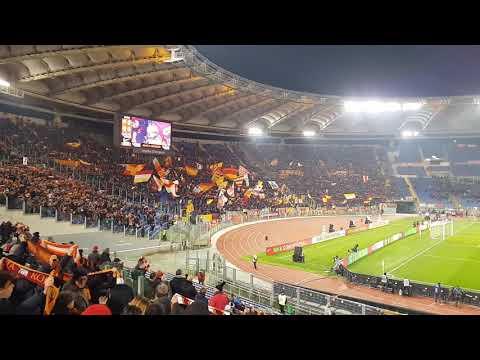 Roma Bologna 2-1 18/2/2019 l'inno Roma Roma Roma daje live