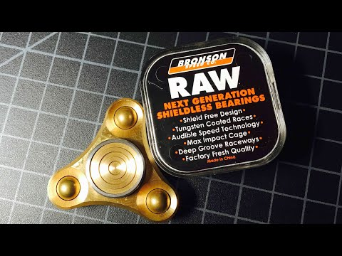 Axis Micro Fidget Spinner Bearing Upgrade (Bronson Speed Co Raw 608)