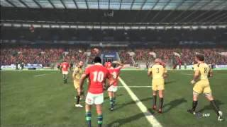 Rugby Challenge 2: Anzacs vs The British and Irish Lions Game 2