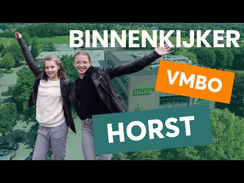 Horst VMBO Binnenkijker