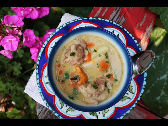 Grandma's Split Peas And Dumpling Soup | CaribbeanPot.com