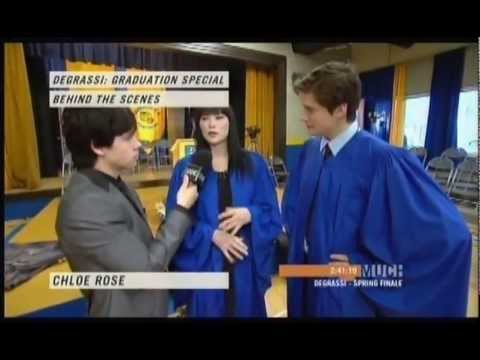 Degrassi: Graduation Special Behind-the-Scenes hosted by Munro Chambers