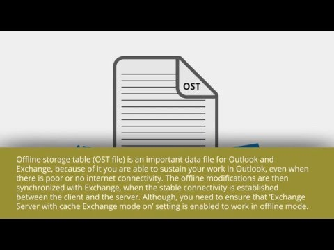 How to repair damaged OST files using Scanost.exe utility?