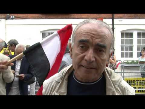 Egyptians From All Denominations Expressing Their Love To Egypt : Egyptian Embassy In London