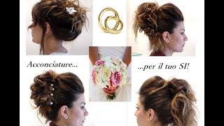 4 Idee di acconciature per sposa e per invitata cerimonia!!!