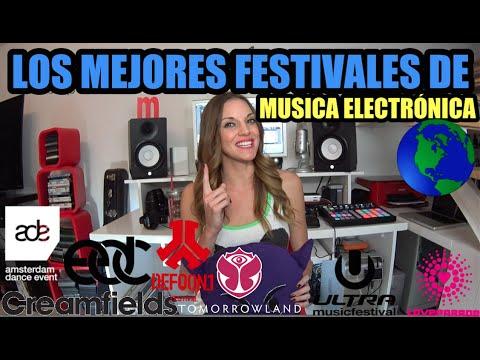 Top festivales de música electrónica