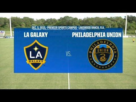 Development Academy Winter Showcase: U-15/16: LA Galaxy vs. Philadelphia Union